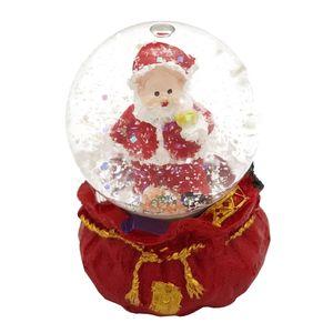گوی برفی شیشه ای جی اچ مدل بابانویل