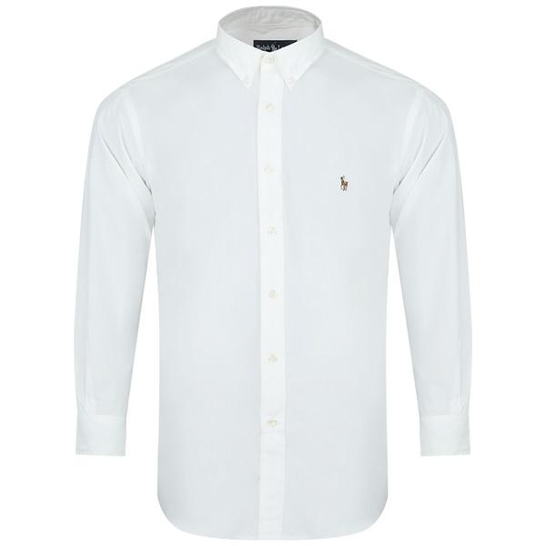 پیراهن آستین بلند مردانه پولو مدل 002
