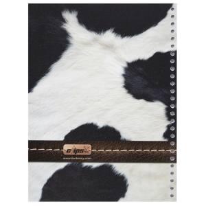 کاغذ کلاسور کلیپس طرح پوست گاو بسته 100 عددی