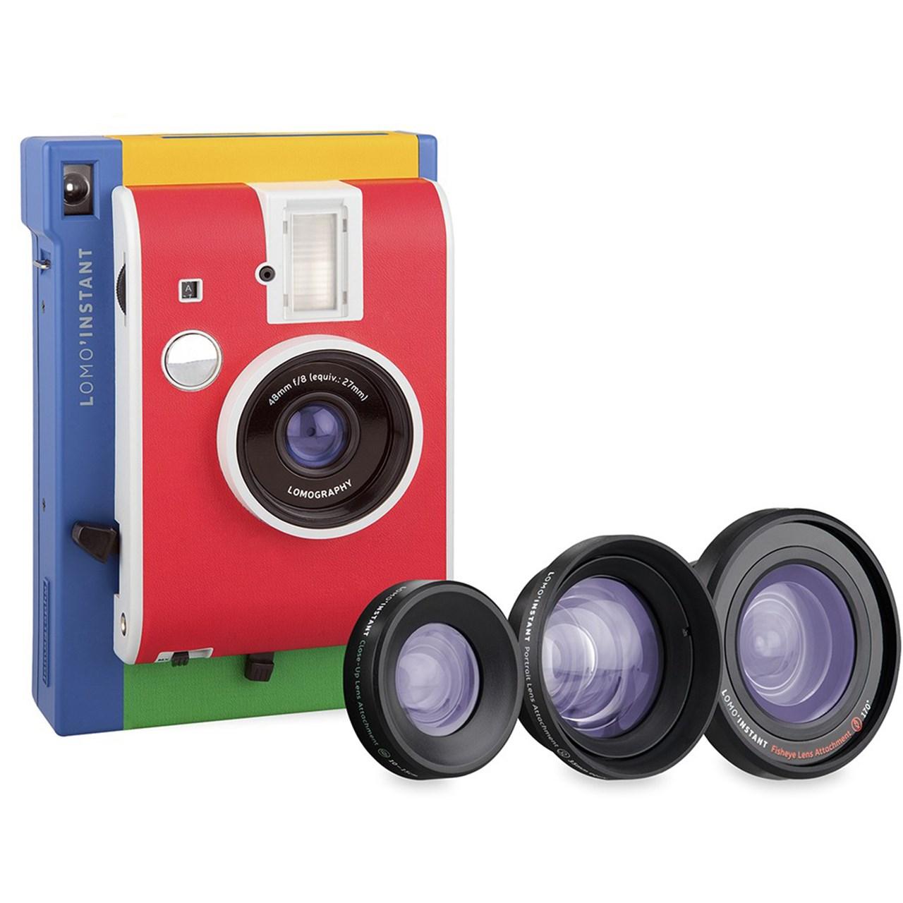 دوربین چاپ سریع لوموگرافی مدل Murano به همراه سه لنز