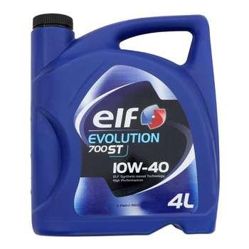 روغن موتور خودرو الف مدلEvolution 700ST حجم 4 لیتر | Elf Evolution 700ST Car Engine Oil 4 L