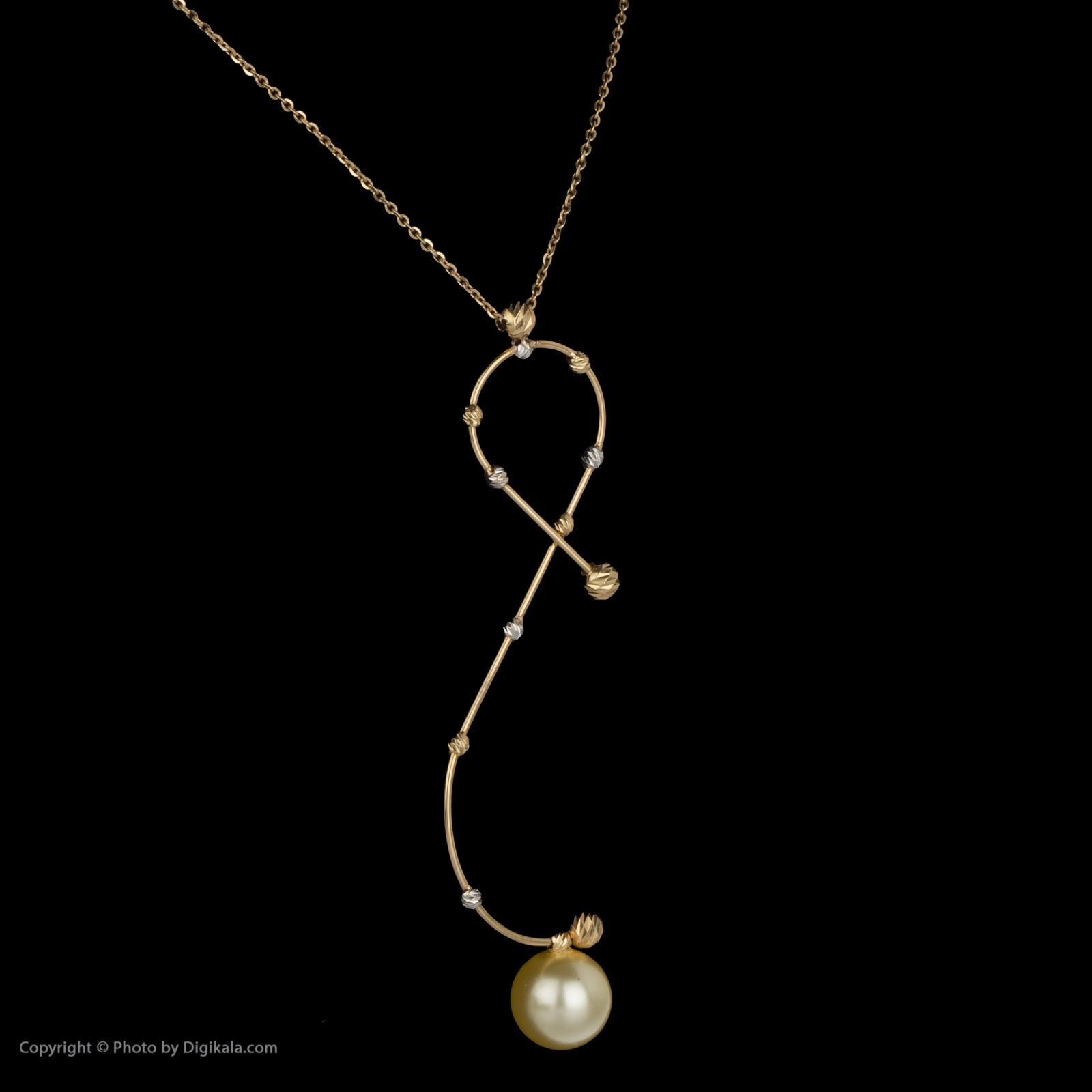 گردنبند طلا 18 عیار زنانه سیودو مدل 146856 -  - 4
