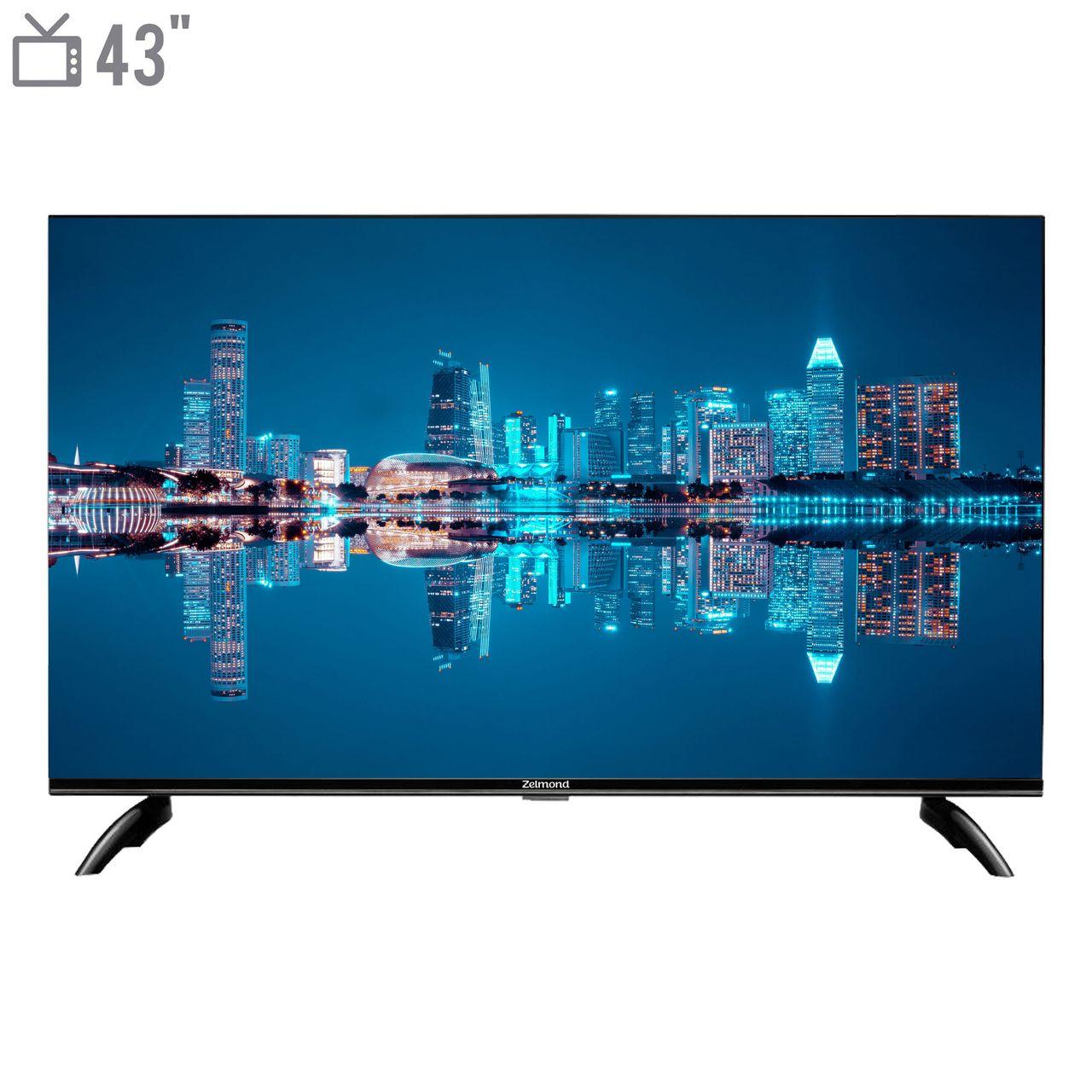 تلویزیون هوشمند ال ای دی زلموند مدل ZL-43SF538 سایز 43 اینچ