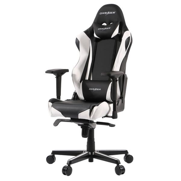 صندلی گیمینگ دی ایکس ریسر سری ریسینگ مدل OH/RV001/NW چرمی