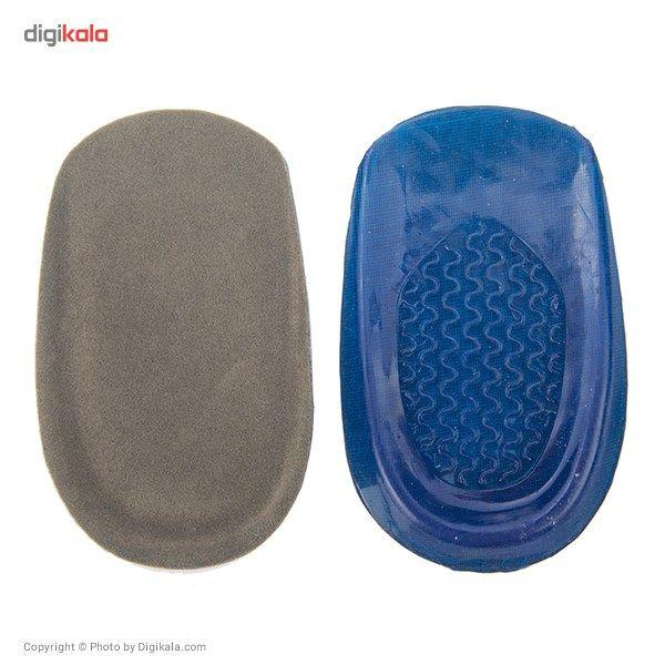 پاشنه کفش زنانه فوت کر مدل Blue Ripple Heel Pads  FootCare Blue Ripple Heel Pads For Women