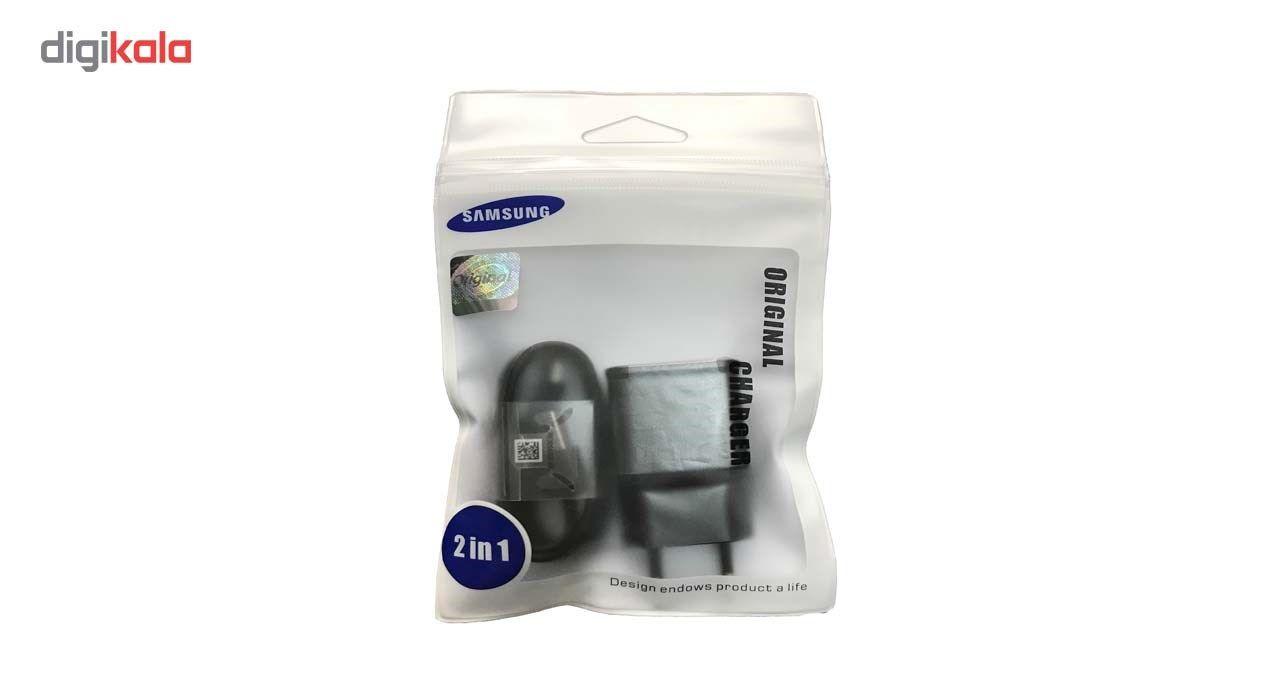 شارژر دیواری مدل EP-TA20EBE همراه با کابل USB C به طول 1.2 main 1 2