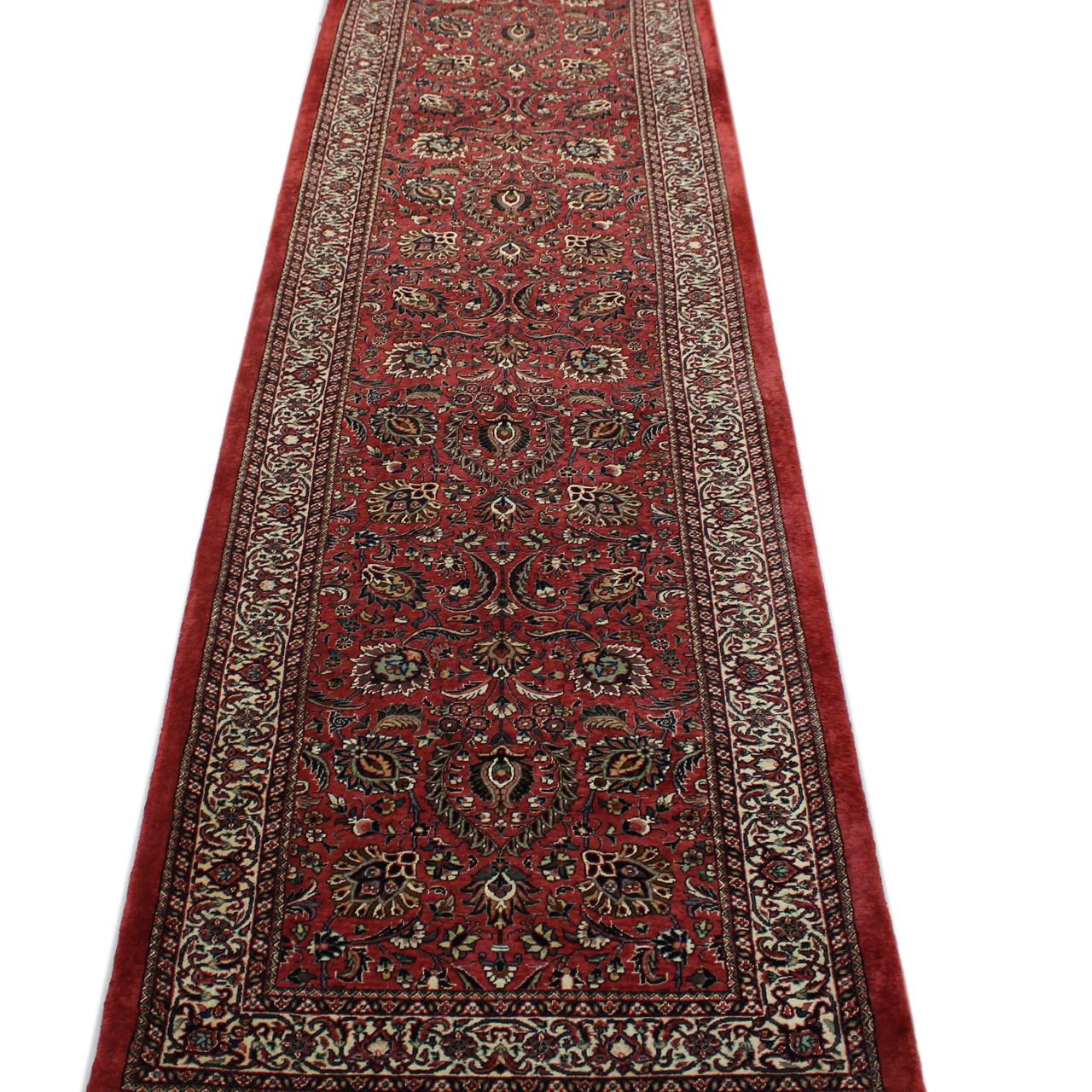 فرش دستبافت کناره طول سه متر کد 246
