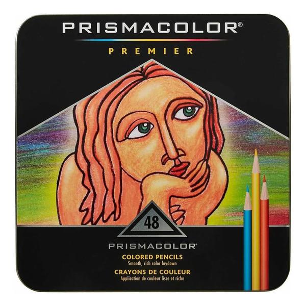 مداد رنگی 48 رنگ پریسماکالر مدل premier کد 3452