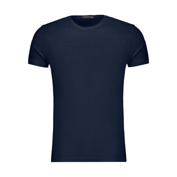 تیشرت آستین کوتاه مردانه ادورا مدل 29915031 رنگ سرمه ای