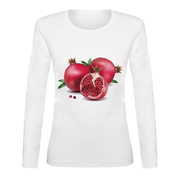 تی شرت آستین بلند زنانه مدل YALDA-SB71