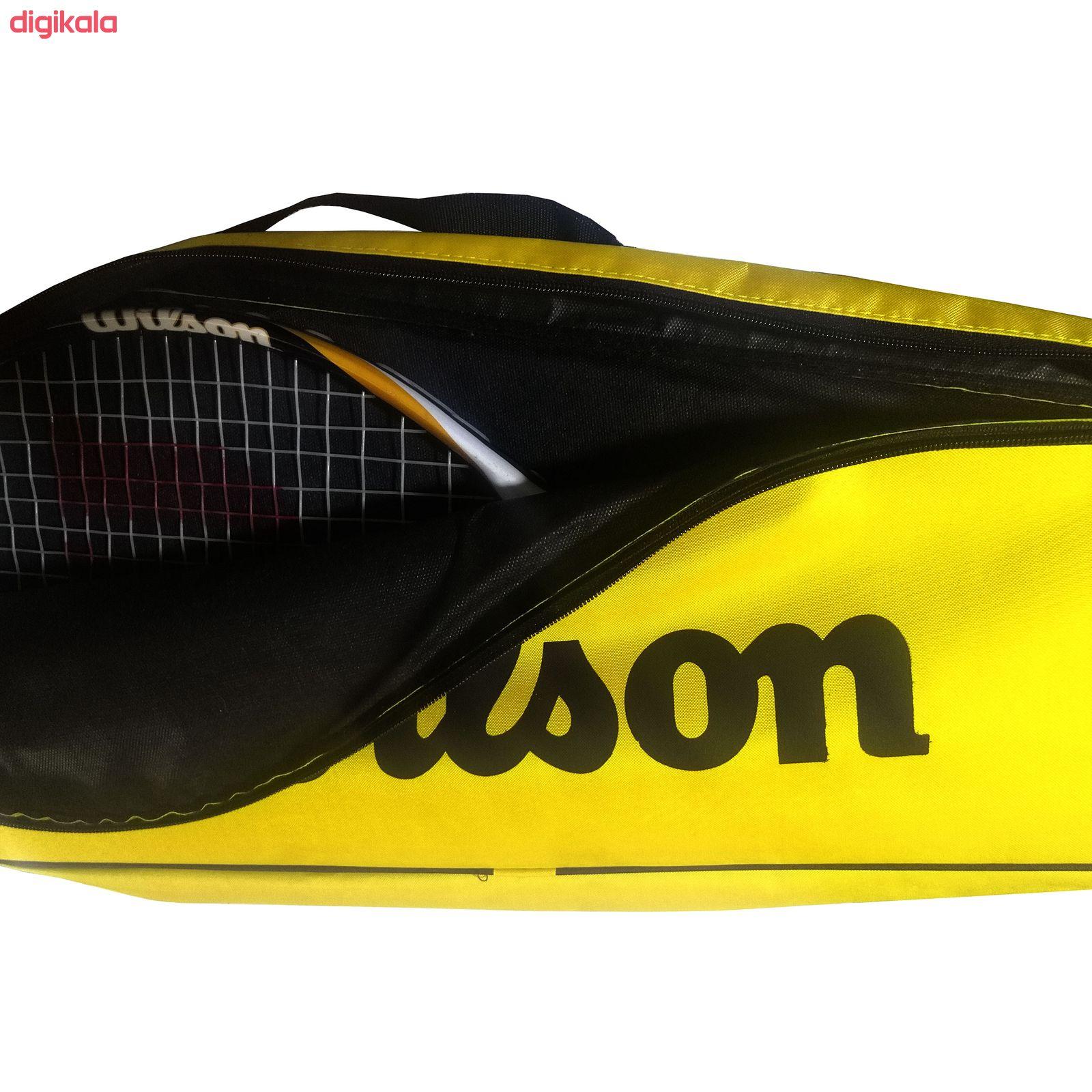 کیف راکت تنیس ویلسون مدل وندیا main 1 4