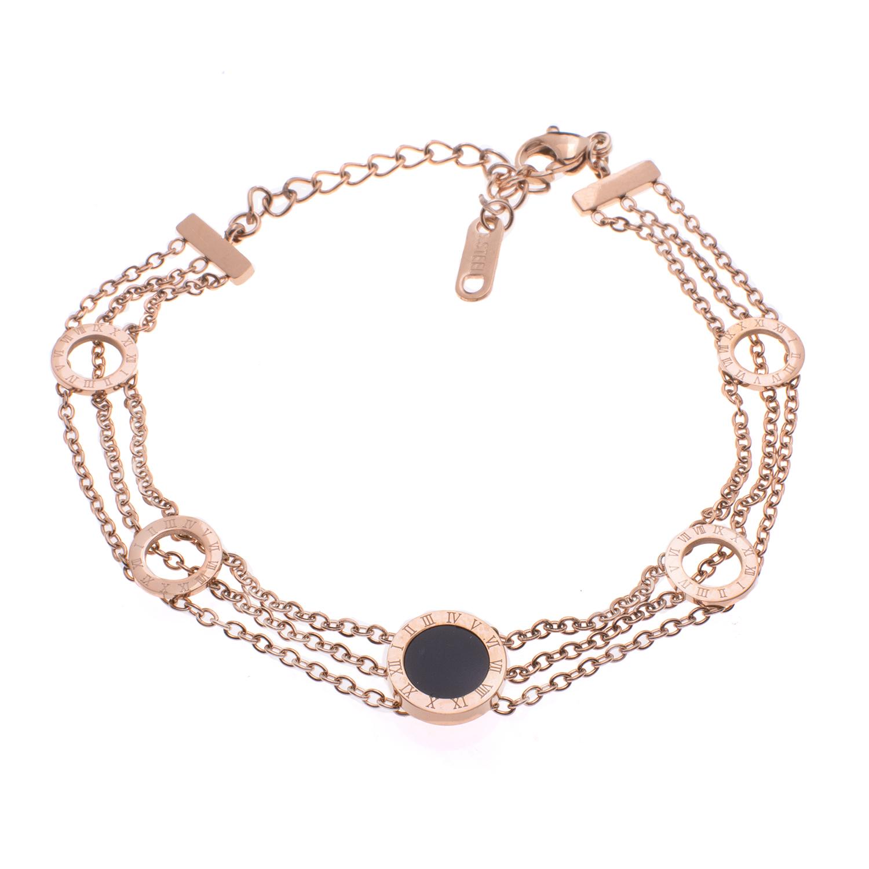 دستبند زنانه استینلس استیل مدل BDZ1019