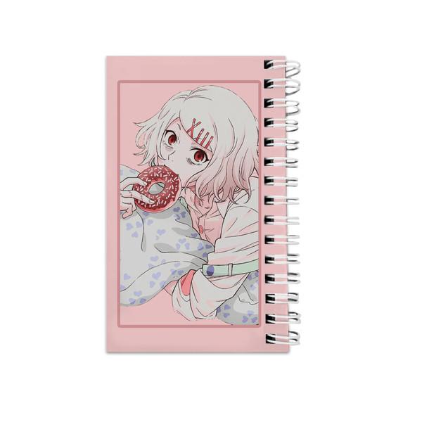 دفترچه یادداشت مدل تو دو لیست طرح انیمه توکیو غول کد bambi66226
