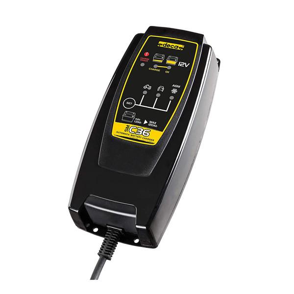 شارژر باتری خودرو دکا مدل SM S36