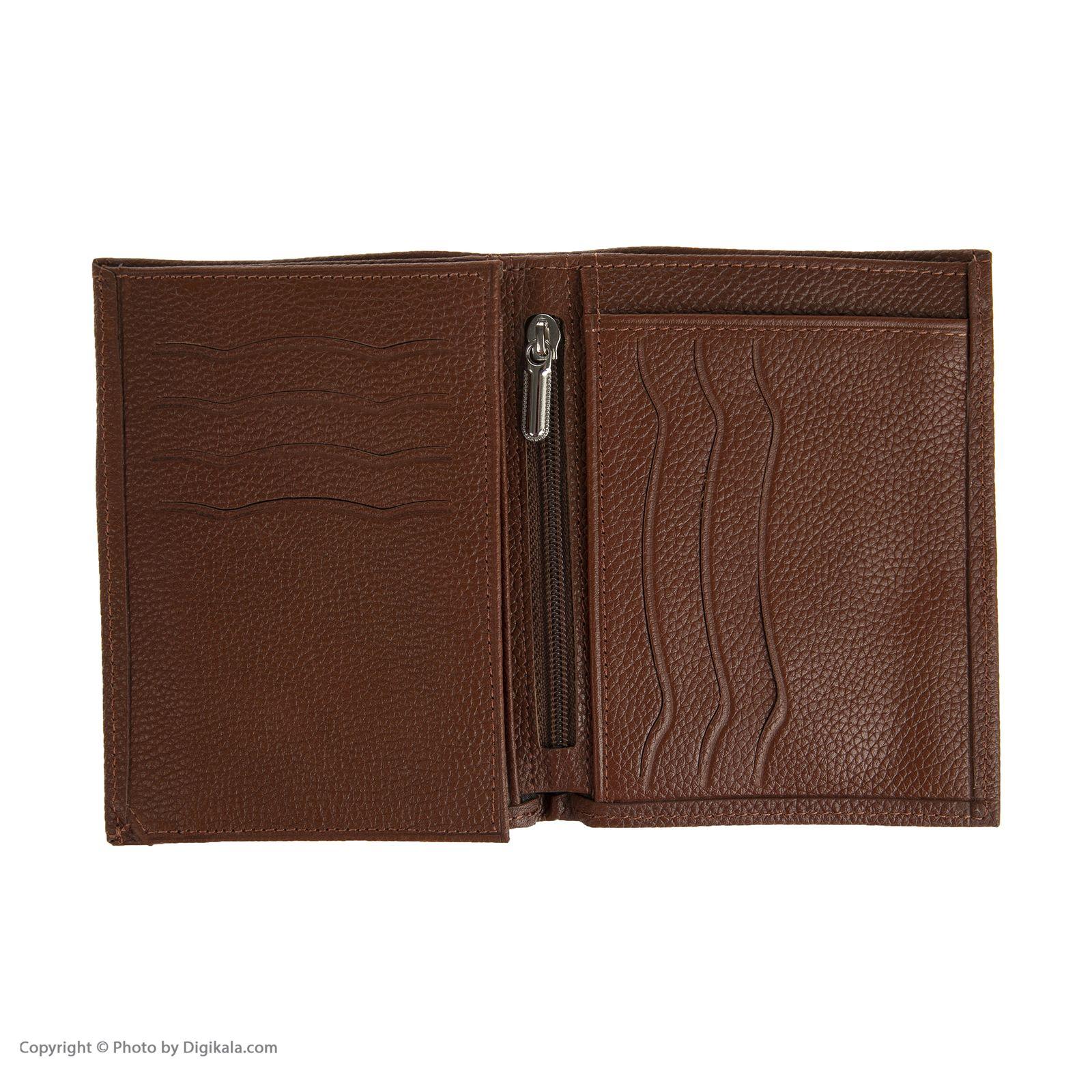 کیف پول مردانه چرمیران مدل 6057104 -  - 5