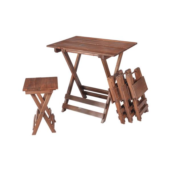 میز و صندلی ناهار خوری گنجینه مدل بلوط