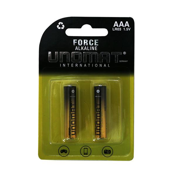 باتری نیم قلمی یونومات مدل International بسته دو عددی