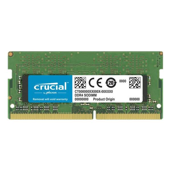رم لپ تاپ DDR4 تک کاناله 3200 مگاهرتز CL22 کروشیال مدل CT32 ظرفیت 32 گیگابایت