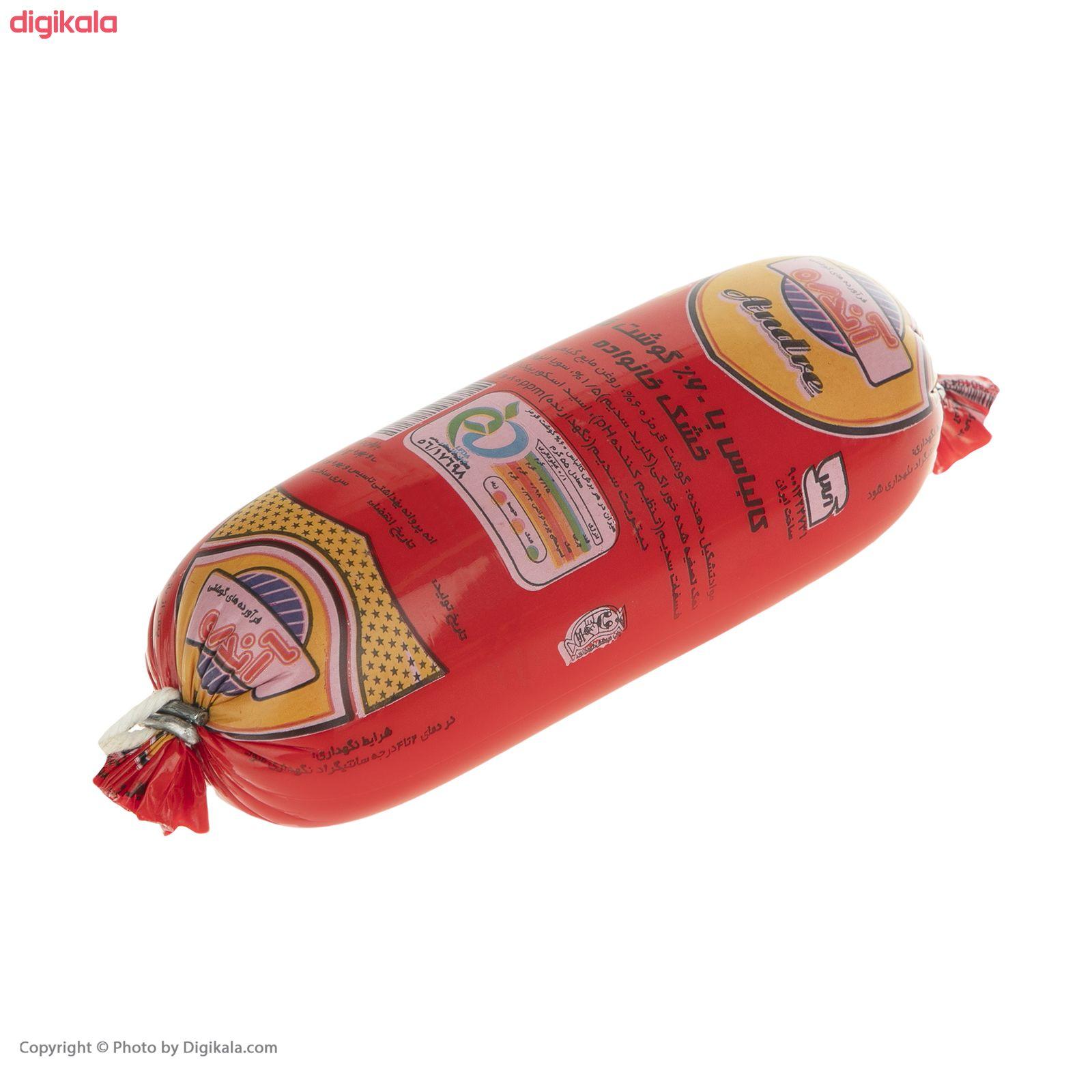 کالباس خشک 60 درصد گوشت قرمز آندره -  500 گرم main 1 1
