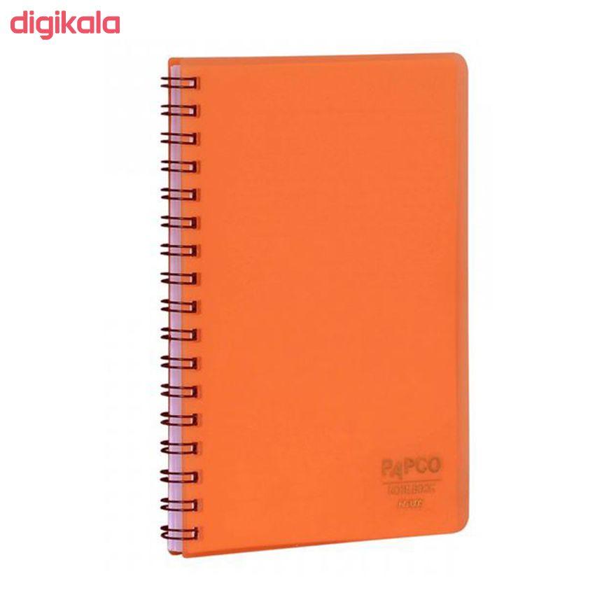 دفترچه یادداشت 60 برگ پاپکو مدل A6-605 main 1 2