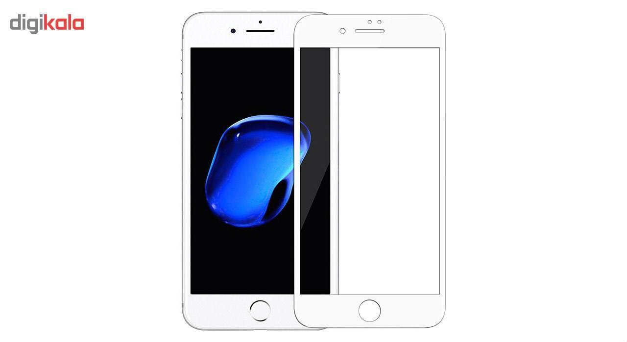 محافظ صفحه نمایش شیشه ای مدل 5D مناسب برای گوشی موبایل iPhone 7/8 Plus main 1 2
