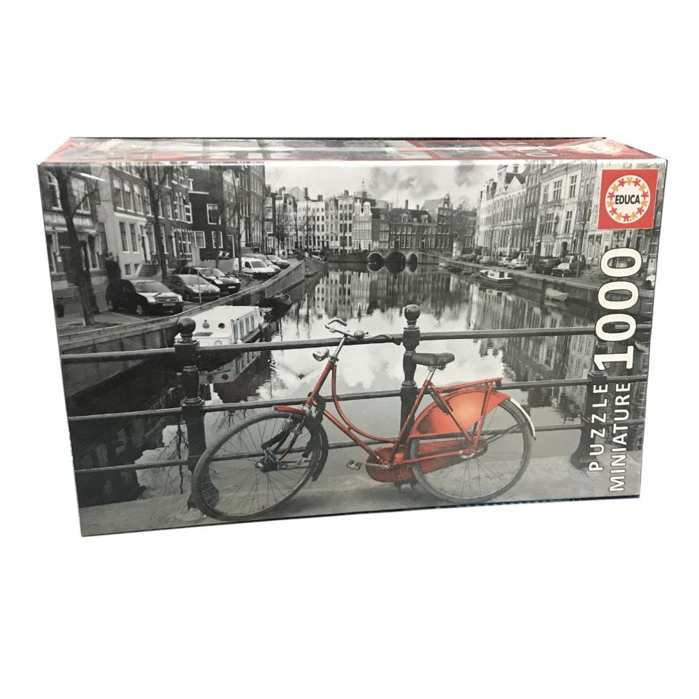 پازل 1000 تکه ادوکا طرح آمستردام مدل miniature