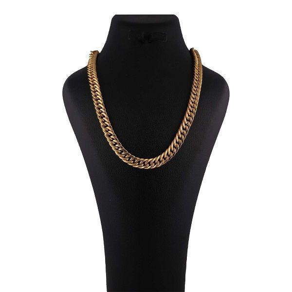 زنجیر طلا 18 عیار زنانه آلند مدل BZZ6