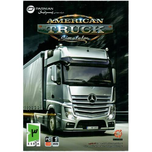 بازی کامپیوتری American Truck Simulator مخصوص PC