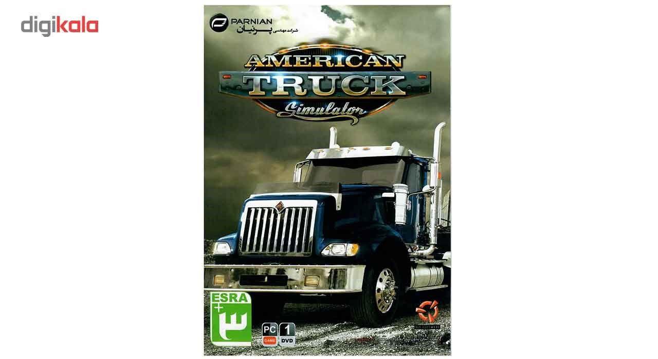 بازی کامپیوتری American Truck Simulator مخصوص PC main 1 1