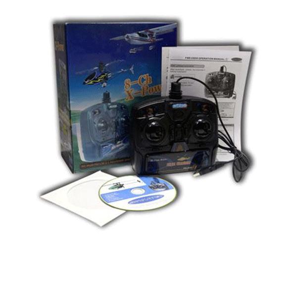 شبیه ساز هواپیمای کنترلی اسکای آرتک مدل فلایت سیمولیتور  X-Power