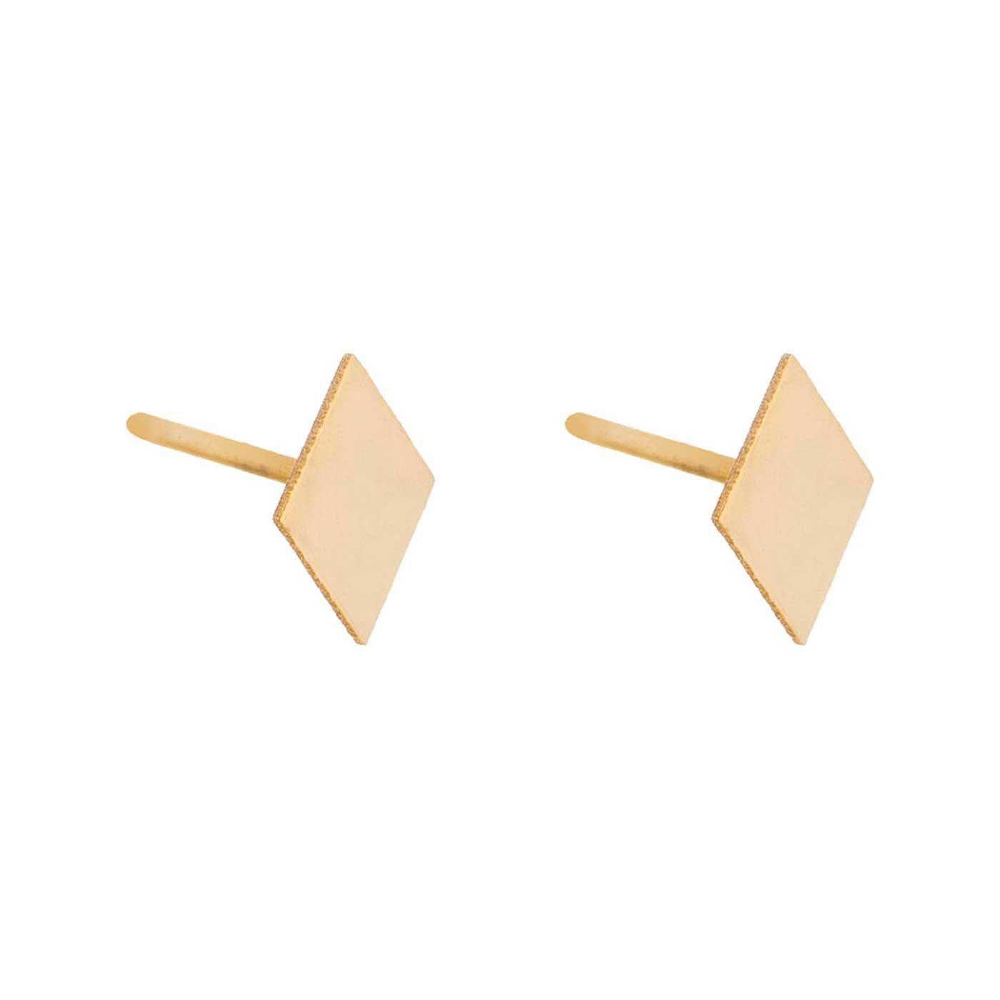 گوشواره طلا 18 عیار زنانه کانیار گالری کد GOA102 -  - 4