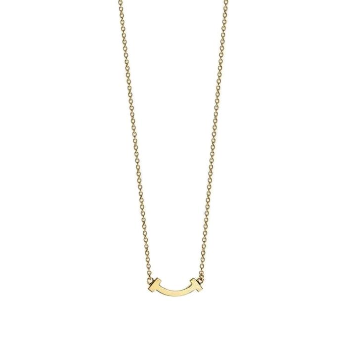 آویز گردنبند طلا 18 عیار زنانه قیراط مدل GH57