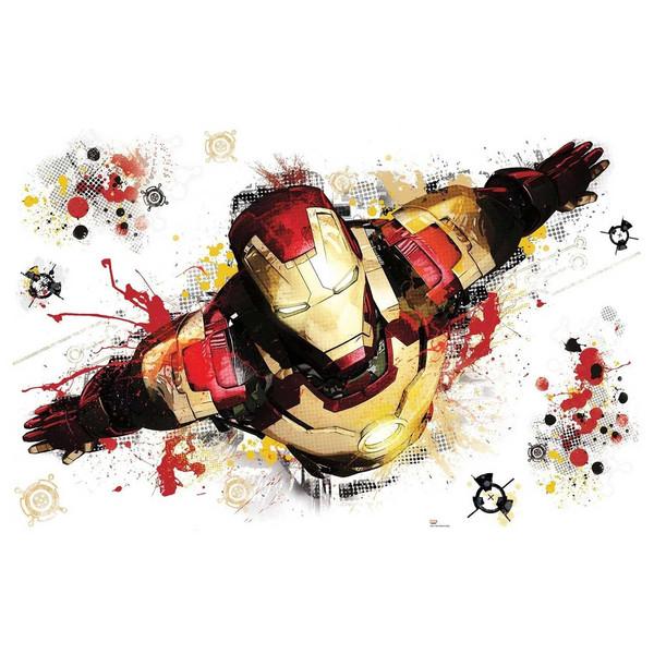 استیکر رومیت مدل Iron Man 3 Graphic Wall Decals