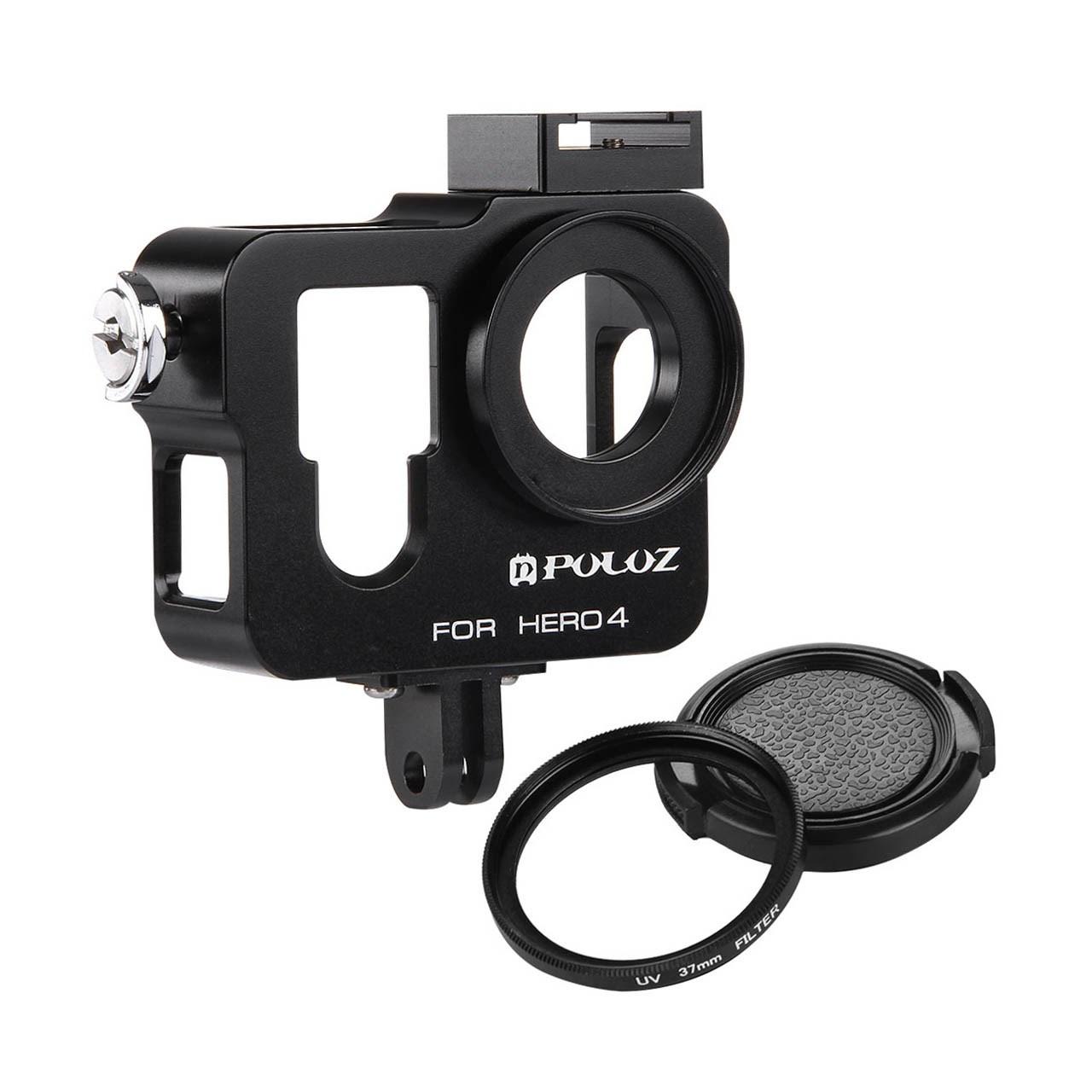 کاور آلومینیومی پلوز مدل Housing Shell مناسب برای دوربین ورزشی گوپرو هیرو 4