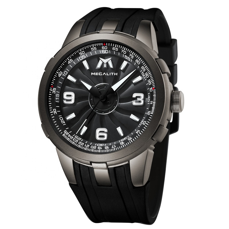 ساعت مچی عقربه ای مردانه مگالیت مدل 8201