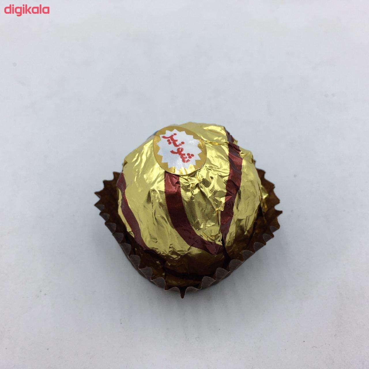 شکلات مغزدار شونیز طلایی - 200 گرمی main 1 1