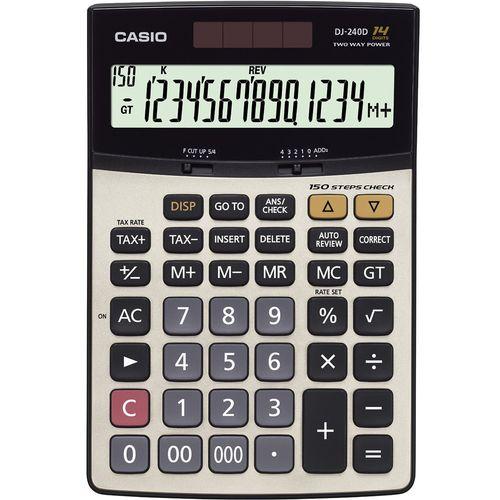 ماشین حساب کاسیو DJ-240 D