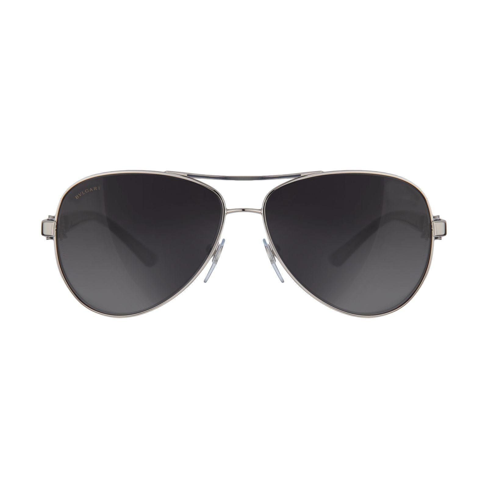 عینک آفتابی زنانه بولگاری مدل  BV6080B 0102T3 -  - 2