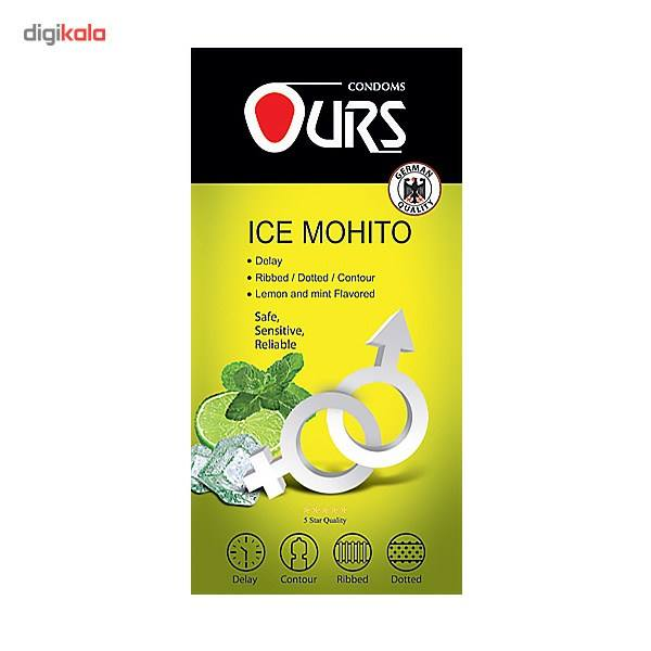 کاندوم تاخیری اورز مدل Ice Mohito بسته 12 عددی main 1 1