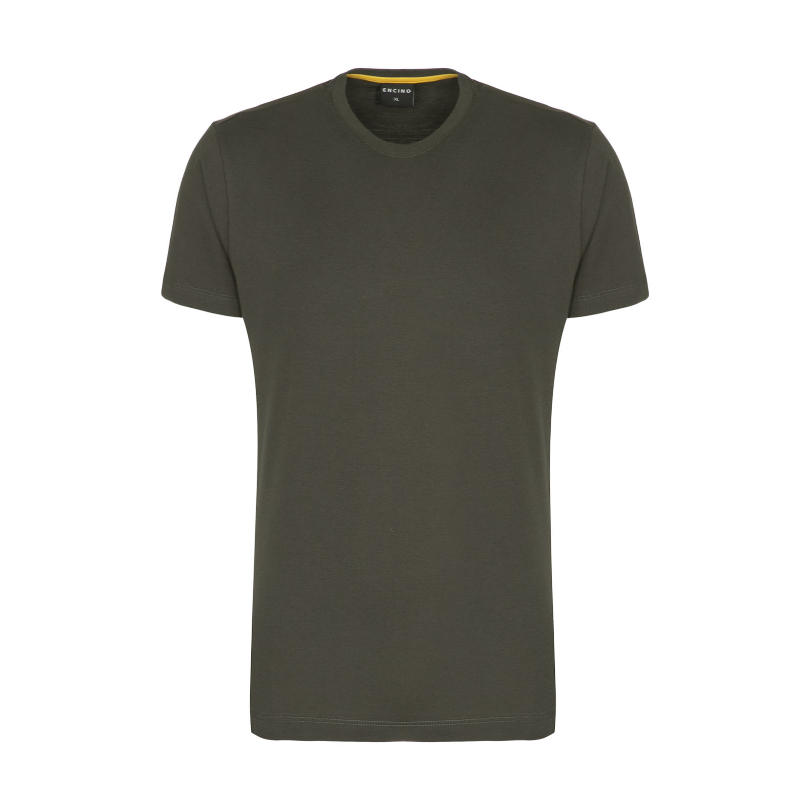 تیشرت آستین کوتاه مردانه ان سی نو مدل بیتر رنگ سبز ارتشی -  - 1
