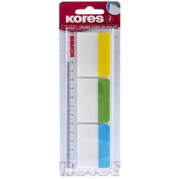 کاغذ یادداشت چسب دار کورس مدل Filing Tabs on Ruler - بسته 30 عددی