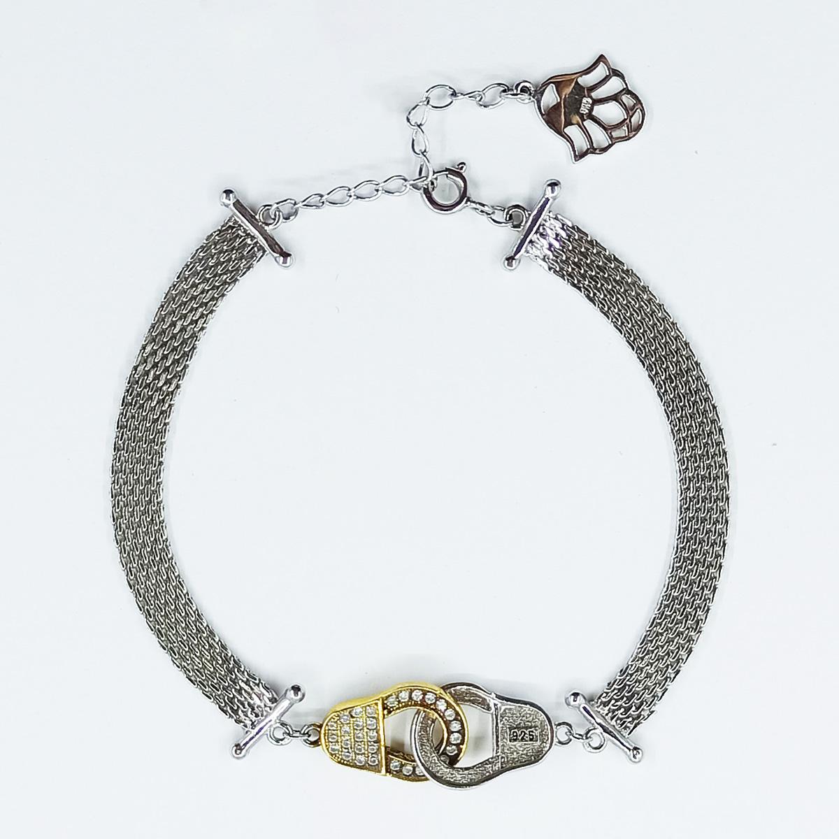 دستبند نقره زنانه سلین کالا مدل ce-As101