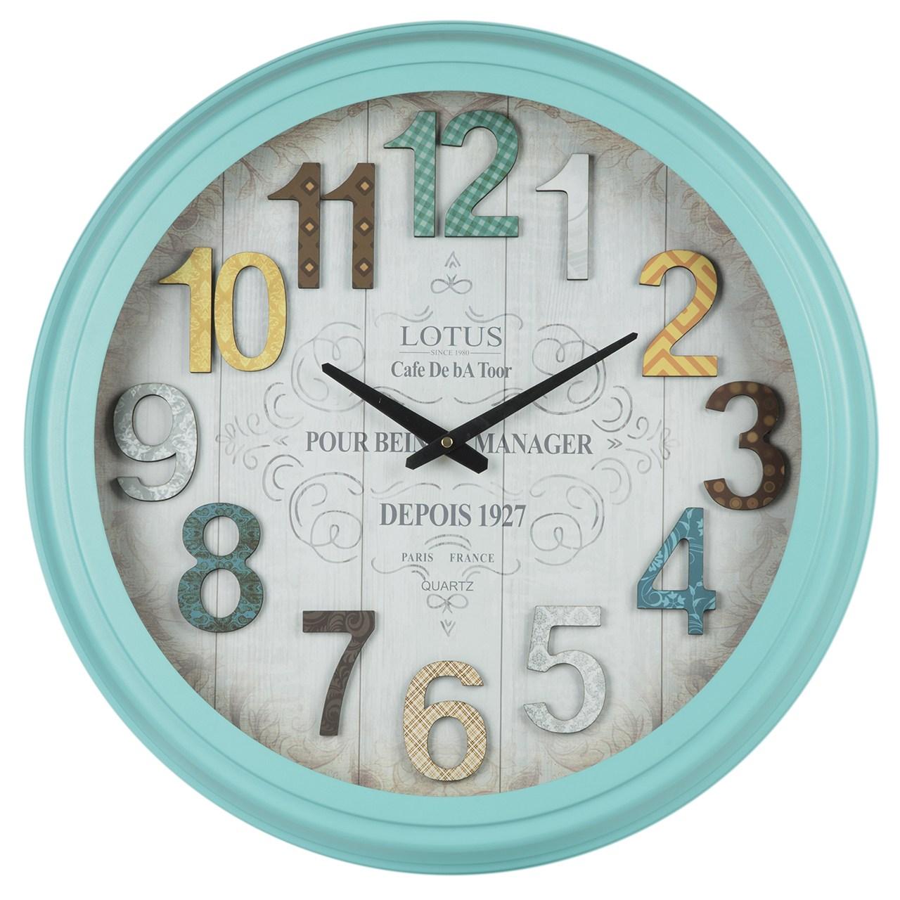 خرید ساعت دیواری لوتوس مدل Portland-16012