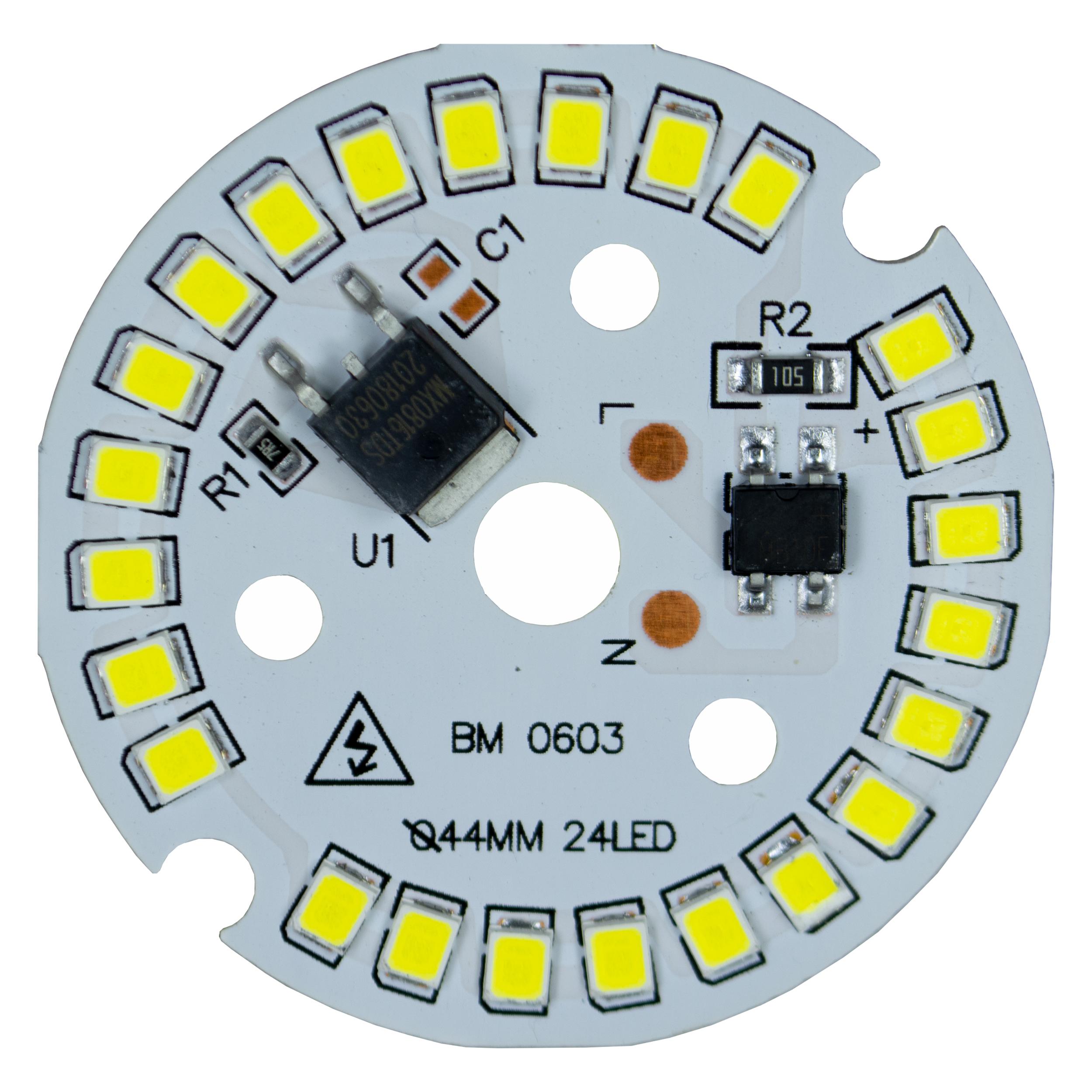 چیپ لامپ ال ای دی 12 وات مدل LM80_220V
