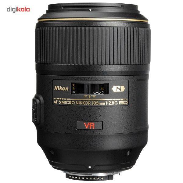 لنز نیکون مدل AF-S Micro-Nikkor 105mm f/2.8G IF-ED VR