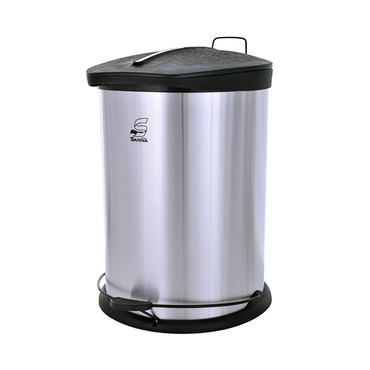 قیمت خرید سطل زباله پدالی 20 لیتری سارینا کد 7550 اورجینال