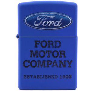 فندک زیپو مدل Ford Motor Company Royal Blue Matte کد 28838