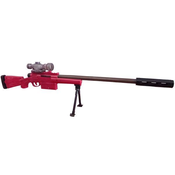 تفنگ بازی طرح اسنایپر مدل flash gun کد 00847