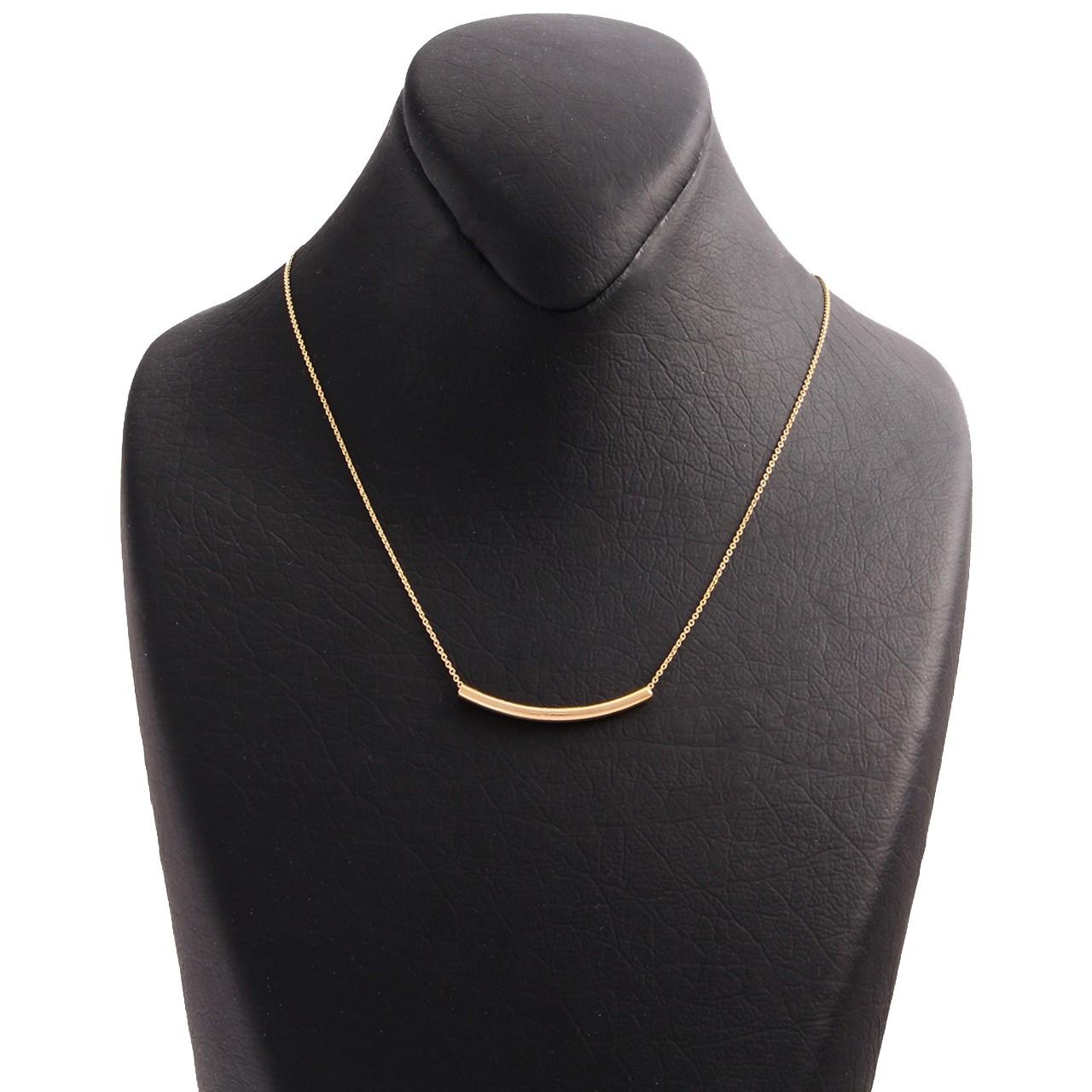 قیمت گردنبند طلا 18 عیار سپیده گالری SN0002