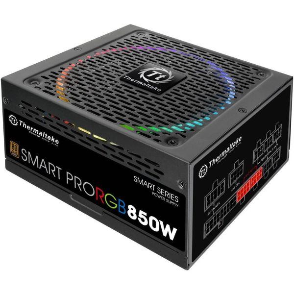 منبع تغذیه کامپیوتر ترمالتیک مدل Smart Pro RGB 850W Bronze